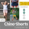 Kombi Ebook Chino-Shorts Damen & Kids